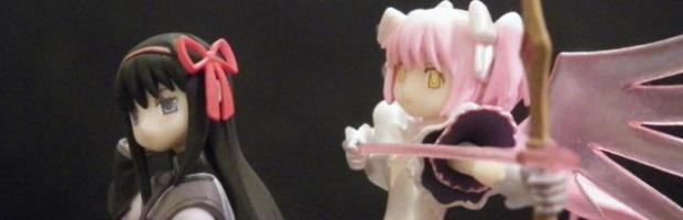 Ultimate Madoka and Final Homura Trading Figures!